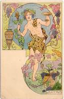 LESSIEUX - Art Nouveau - Bacchus  (6822 ASO) - Lessieux