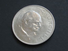 Grande Bretagne - 1 Crown 1965 - CHURCHILL - ELIZABETH II - Great Britain   **** EN ACHAT IMMEDIAT **** - L. 1 Crown