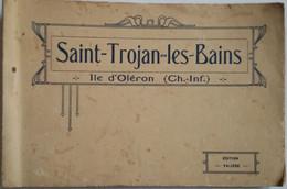 17 - SAINT-TROJAN-LES-BAINS - Carnet Des éditions Valière Format 180X115 Mm Représentant 16 CPA Couleur - 18 Photos - RR - Andere Gemeenten