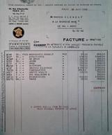 G 19  Facture/document Entete Compagnie Du Jouet  Fournisseur De Jouets à Paris - Altri