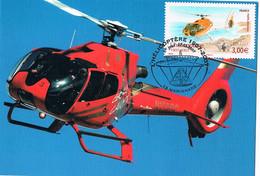 FRANCE C.M. P.A 70.P.J Helicoptère.A.1. 17.02.2007.Marignanne - 2000-09