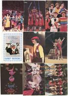 USSR. 1973 - 1988. Cirque. Circus. Acrobat.  Illusionist. Clown - Formato Piccolo : 1981-90
