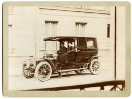 Automobile Ancienne. Entraînement Par Chaine Circa 1899. - Automobiles