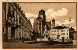 Passau/Bayern -    Residenzplatz Mit Wittelsbacher Brunnen - Passau