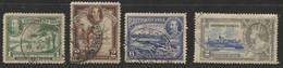 British Guiana (1934-1935) - Used Stamps - British Guiana (...-1966)