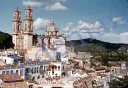 1949 TAXCO CITY MEXICO AMERICA 35mm SLIDE PHOTO FOTO M28 - Diapositives (slides)