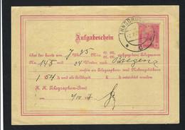 AUTRICHE 1907: CP Entier De 10h - Postwaardestukken