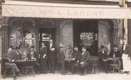 CAFE - Maison L. Larène - Bière De La Meuse, Billard - Carte-Photo - Cafés