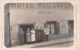 HOTEL Mealonnier, Celle Successeur - Carte-Photo - Hotels & Restaurants