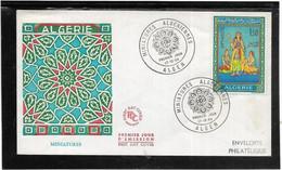 Thème Peinture, Tableaux, Peintres - Algérie - Enveloppe - TB - Non Classificati