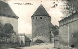 N°9447 -cpa Semur -la Tour Des Vinaigriers- - Semur