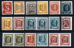 BELGIE - PRECANCELS - Typo - Selectie  Nr 510 - Zonder Gom/sans Gomme - Unclassified