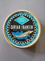 Boite De Caviar Iranien Sevruga Vide 100g 1993 - Other