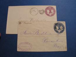 USA 2 Alte Briefe - 1901-20