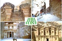 Asie - Jordanie - 3 Cartes : Petra - Qumran - Jordan