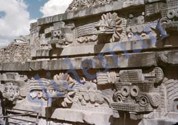 3 SLIDES 1949 PIRAMIDE PYRAMID MEXICO AMERICA 35mm PHOTO FOTO N3 - Diapositives (slides)