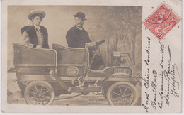 CARTE PHOTO DE MONACO FAMILLE BOUILLARD MONSOLS - Altri Comuni