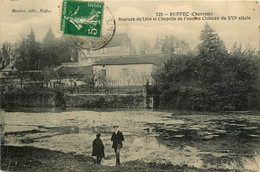 Ruffec * Vue Sur La Source Du Lien Et Chapelle De L'ancien Château - Ruffec