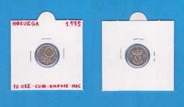 NORUEGA  10 ORE 1.975  CU-NI  KM#416  VF/MBC    DL-12.741 - Norway