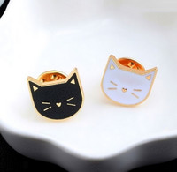 Lot De 2 Pin's NEUFS En Métal ( Pins ) - Chats Cats - Tiere
