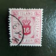 ISLANDE . SERVICE 7 OBLITERE - Dienstpost