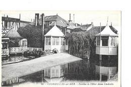 COURSEULLES  SUR MER   N 68   PAVILLON DE L HOTEL ADAM CHEDEVILLE   GROS PLAN      DEPT 14 - Courseulles-sur-Mer