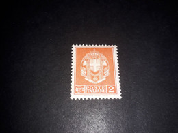 "A8MIX27 REGNO D'ITALIA 1929 SERIE DETTA IMPERIALE CENT. 2 ""X"" - Mint/hinged"