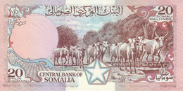 SOMALIA P. 33d 20 S 1989 UNC - Somalia