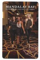 Mandalay Bay Hotel & Casino, Las Vegas, Used Contactless Hotel Room Key Card # Mb-157 - Hotel Keycards