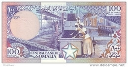 SOMALIA P. 35d 100 S 1989 UNC - Somalia