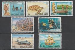 CAICOS-ISLAS   1983  **   MNH  YVERT   11/17  TURTUGAS - Turks E Caicos