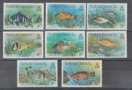 TURKS-CAICOS   1985  **   MNH - YVERT   412/19- LOTE  PECES - Turks E Caicos