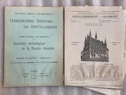 1911 - GERAARDSBERGEN - GRAMMONT - Oudheidkundige Inventaris Oost-Vlaanderen - Flandre Orientale -  DEEL 2 - Geschichte