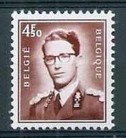 BELGIE Boudewijn Bril * Nr 1651 * Postfris Xx * FLUOR  PAPIER - 1953-1972 Occhiali