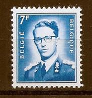 BELGIE Boudewijn Bril * Nr 1575 * Postfris Xx * FLUOR  PAPIER - 1953-1972 Occhiali