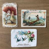 Lot De 6 Chromos Chocolat Poulain – Thèmes Divers (enfants, La Chasse,…) - Poulain