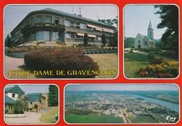 76 - Notre Dame De Gravenchon - La Mairie - L'église Notre Dame Et Port Jérome - Other Municipalities