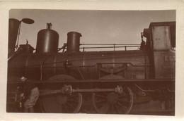 Carte Photo Une Locomotive  RV - Fotografia