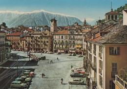 Schweiz - Locarno - Piazza Grande - 1964 - TI Tessin