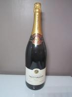 CHAMPAGNE TAITTINGER REIMS RESERVE 3 Litres Jéroboam De Champagne Factice VIDE Non Ouverte. Poids 3037 Grammes - Champagne & Sparkling Wine
