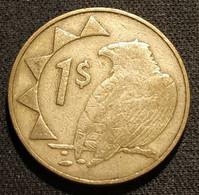 NAMIBIE - NAMIBIA - 1 DOLLAR 1996 - KM 4 - ( Aigle Bateleur Des Savanes ) - Namibia