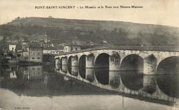 Pont Saint Vincent - La Moselle Et Le Pont - Altri Comuni