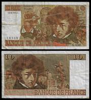 FRANCE BANKNOTE 10 FRANCS 1975 P-150b F (NT#05) - 10 F 1972-1978 ''Berlioz''