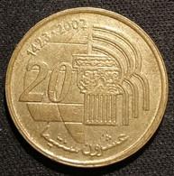 MAROC - MOROCCO - 20 SANTIMAS 2002 - Tourisme Et Artisanat - KM 115 - Morocco