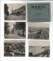 Y19039/ MEMEL Im Bilde 10 Fotos  Verlag: Roibert Schmidt Ca.1930 Litauen - Lithuania
