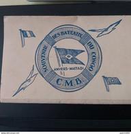 Souvenir Des Bateaux Du Congo SS Léopoldville (1929) ANVERS-MATADI Carnet De 10 CARTES DE L'INTERIEUR DU BATEAU - Steamers