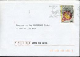N° 2984 (1995) - Obl. Flamme Illustrée De Libourne (33) - 1961-....