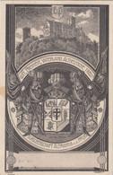2729) Burschenschaft ALEMANNIA A. D. PFLUG - Gott Freiheit Vaterland Altdeutsche Treu - HALLE / S. - 30.07.1920 !! - Halle (Saale)