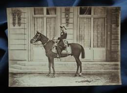 Photo Cabinet Appert à Paris - Le Maréchal De Mac Mahon à Cheval, Circa 1895 L542 - Oud (voor 1900)