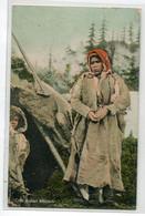 INDIENS D'Amérique Cree Indian Woman Femme Indienne Son Enfant Et Son Tipi écrite 1907 Manitoba    D09 2021 - Native Americans